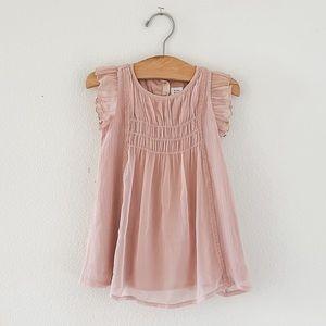 Baby gap chiffon + lace dress
